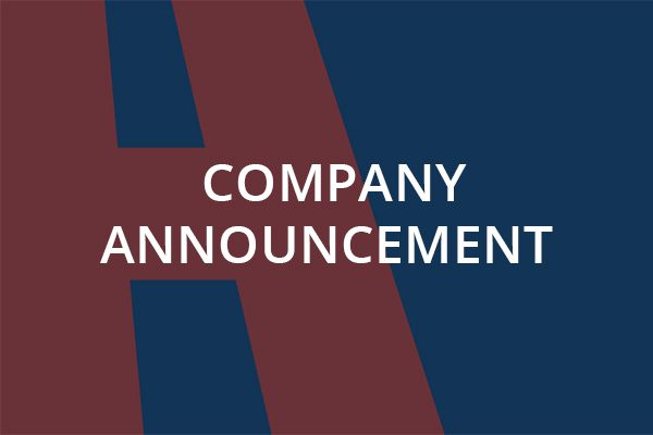 Company-Announcement